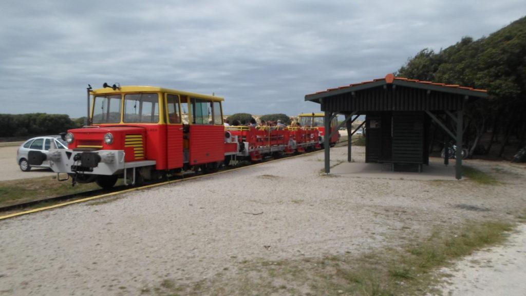 Petit train du Verdon à Soulac