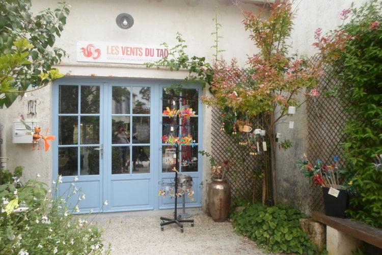 """Atelier Boutique """"Les Vents du Tao"""" à Talmont-sur-Gironde"""