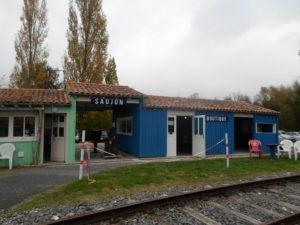 Gare du Trains des Mouettes à Saujon