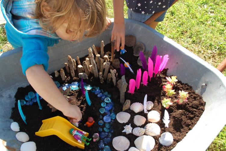 mini jardin à réaliser avec les enfants