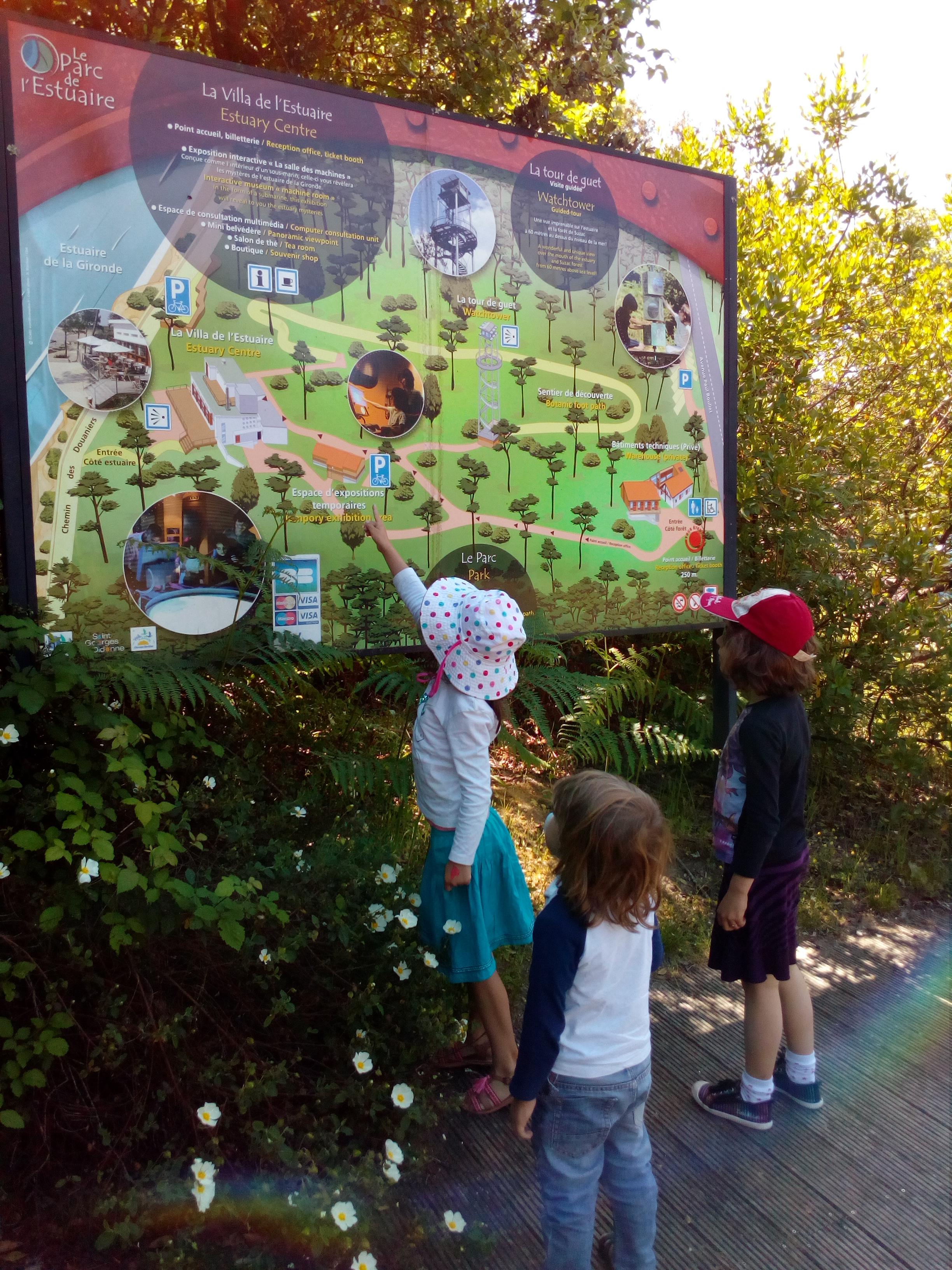 Entrée du Parc de l'estuaire à St-Georges-de-Didonne