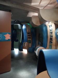 Salle des machine du parc de l'estuaire du po^le nature de Saint-Georges-de-Didonne