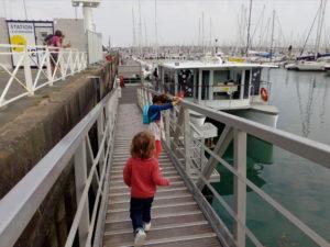 Bus de mer au port des Minimes à La Rochelle