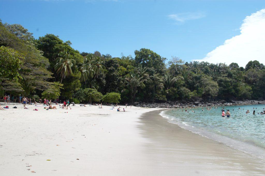 Plage du Parc Manuel Antonio au Costa Rica