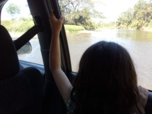 Départ en taxi de Santa Teresa pour Playa Joquillal