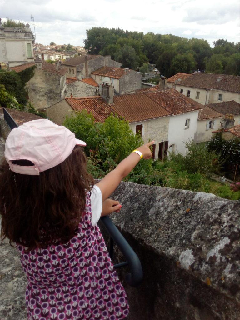 Vue des toits du Village de St-Savinien
