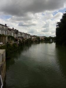 Vue sur la Charente à St-Savinien