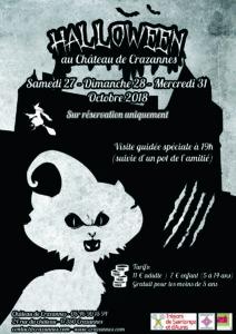 Halloween au Château de Crazannes
