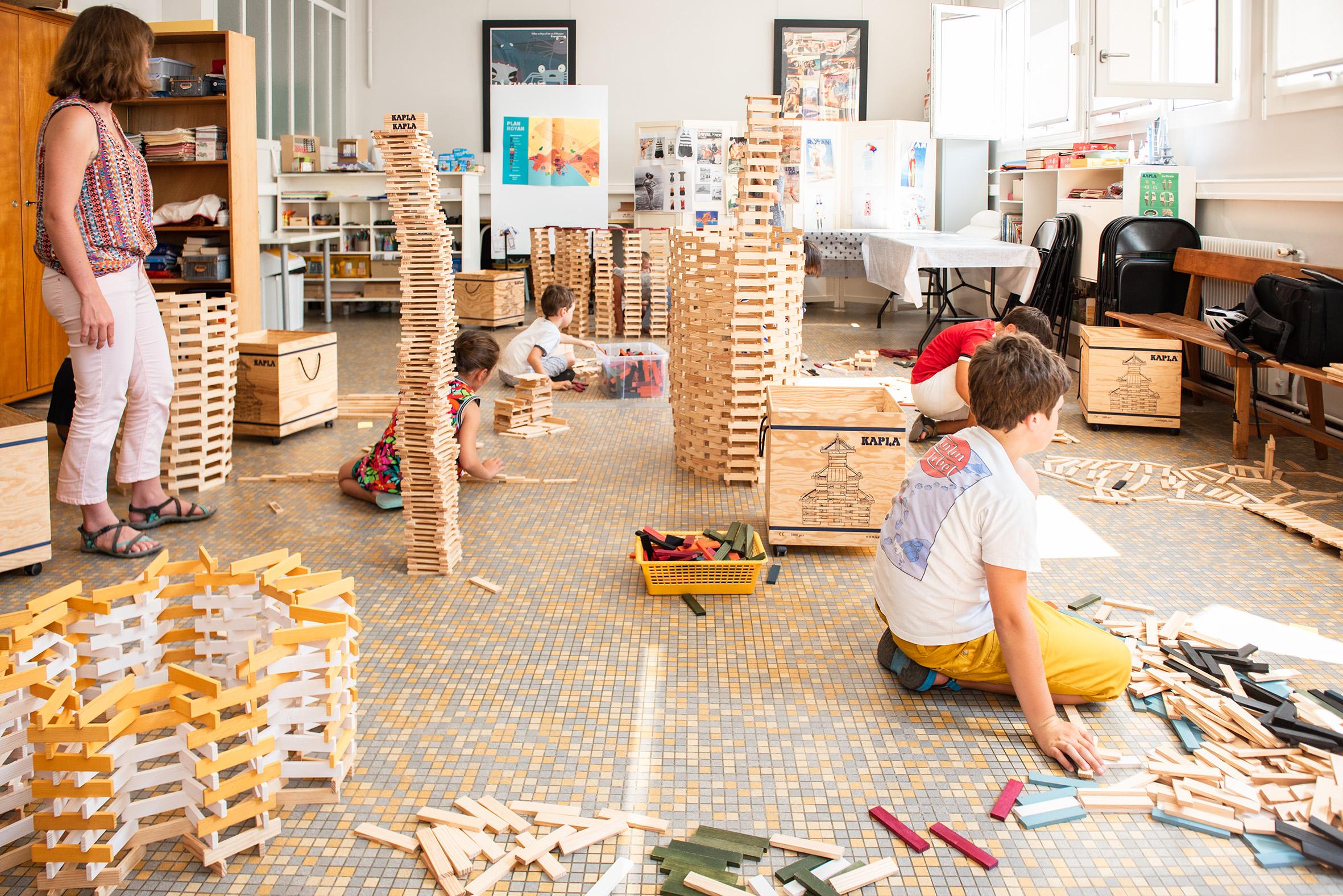 Atelier Kapla du service du patrimoine Ville de Royan