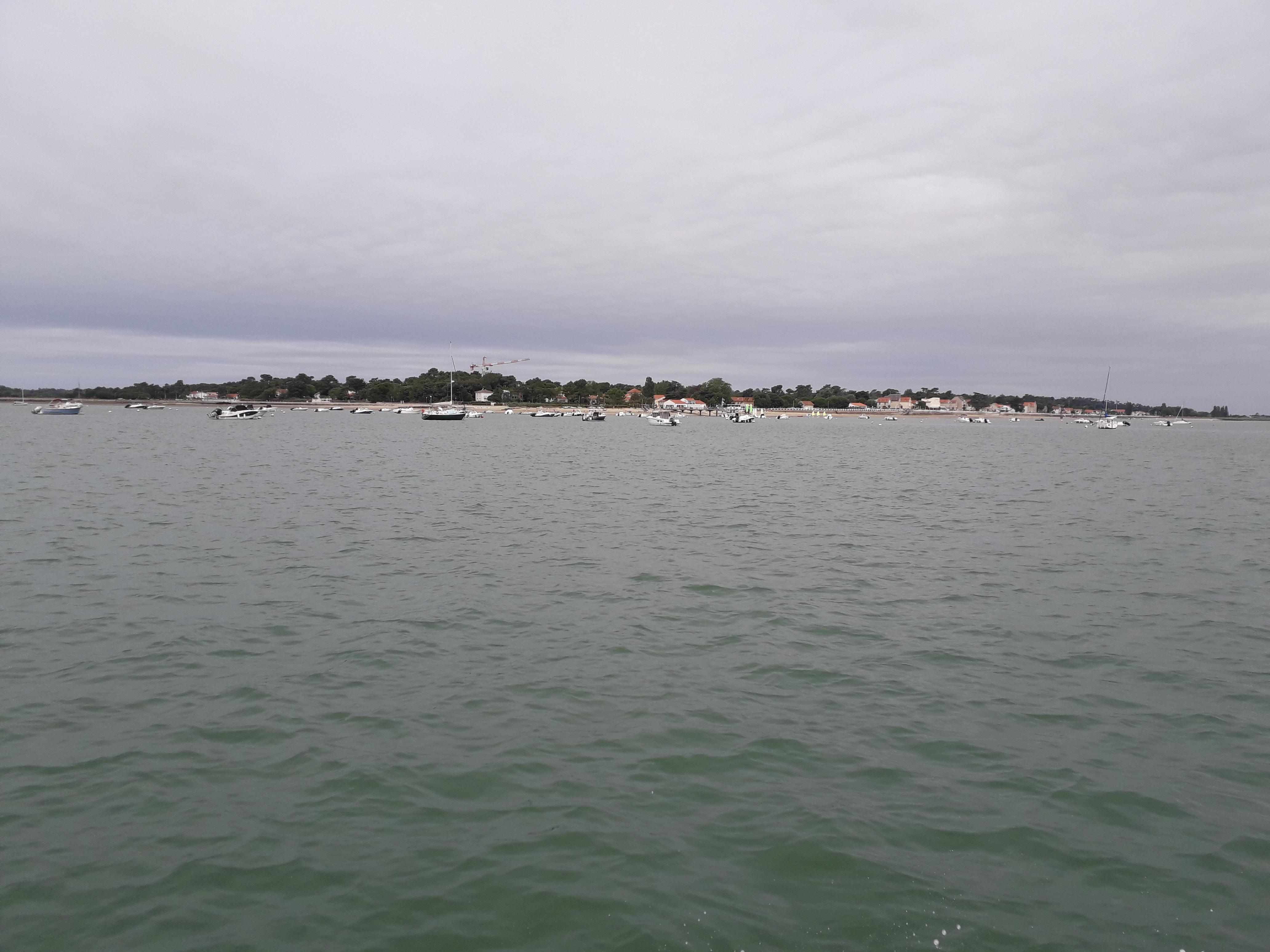 Vue sur St-Trojan les Bains Île d'Oléron