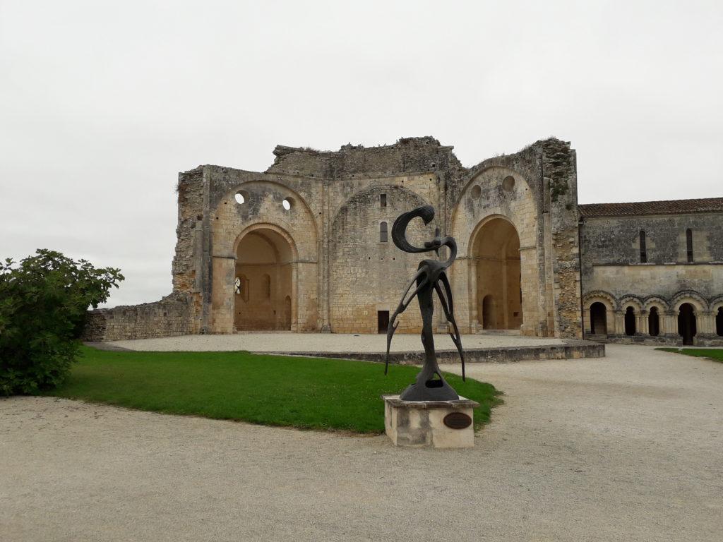 Œuvres exposées à l'abbaye