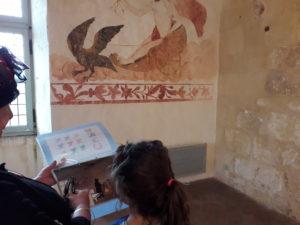 Dortoir de l'abbaye de Trizay