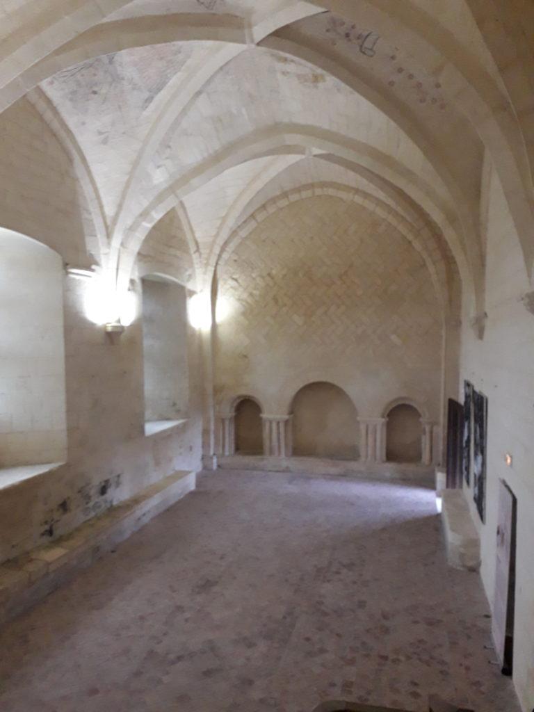 Réfectoire de l'abbaye de Trizay
