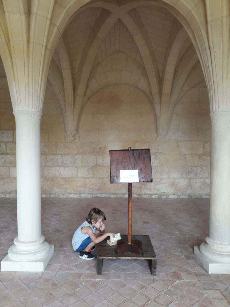 La Salle Capitulaire de l'abbaye de Trizay