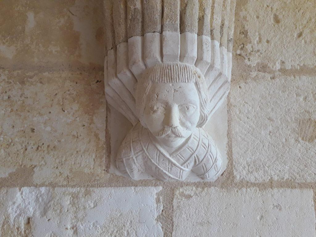 Salle capitulaire de l'abbaye de Trizay