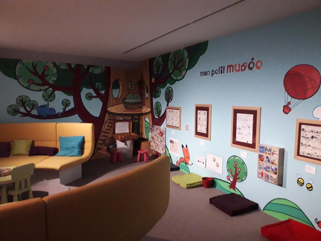 Espace enfant Musée de la BD à Angoulême