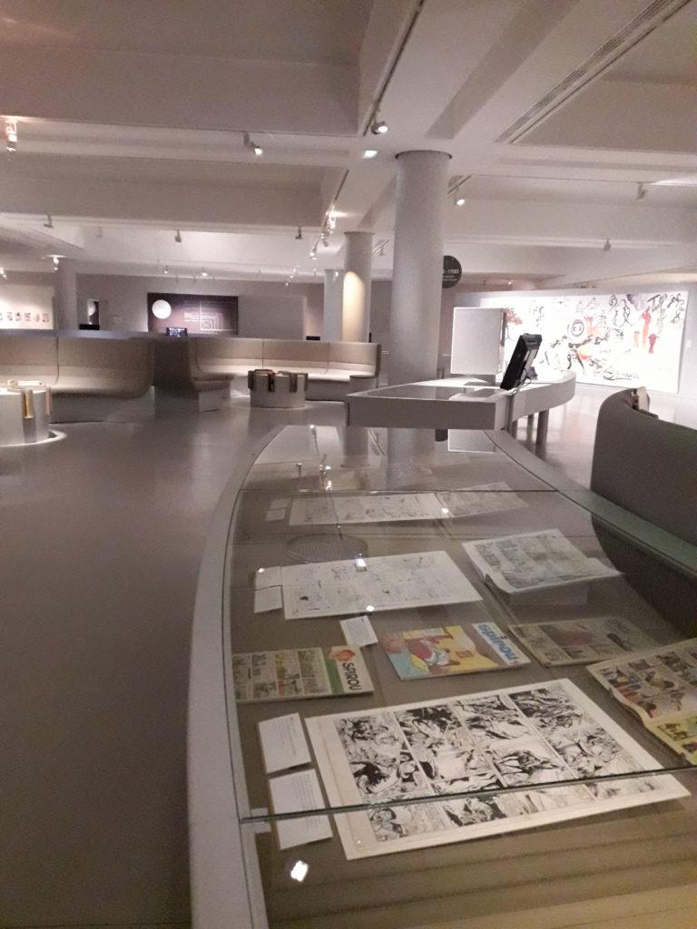 Exposition permanente Musée de la BD Angoulême