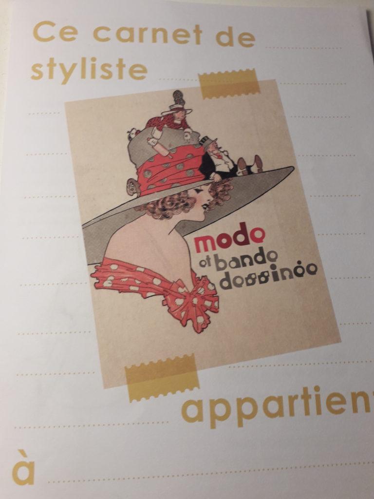 """Musée de la BD à Angoulême, exposition """"Mode et bande dessinée"""" à Angoulême"""