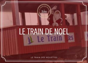 Train de noël du Train des Mouettes à Saujon