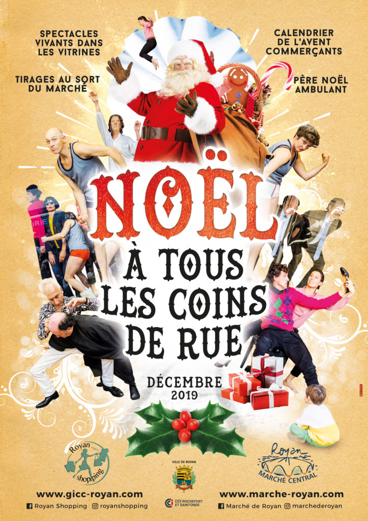 Animations de Noël de Royan Shopping
