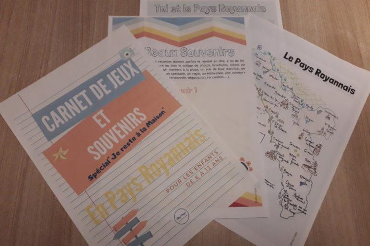 Carnet de jeux et de souvenirs en Pays Royannais Royan