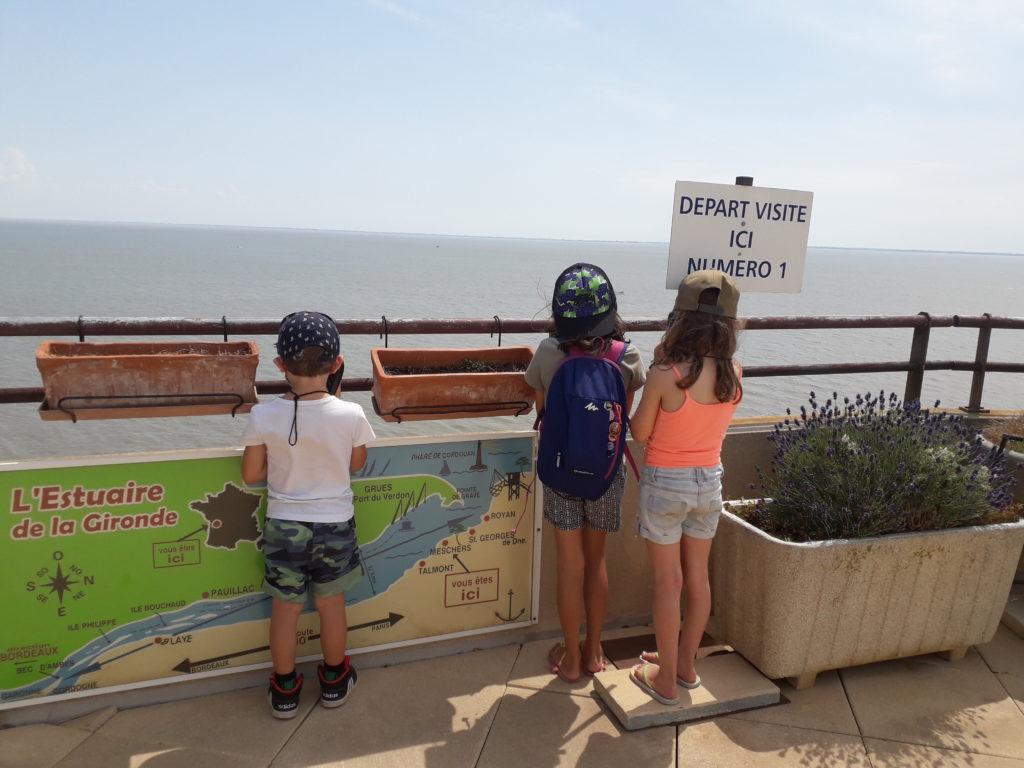 Vue sur l'Estuaire de a Gironde