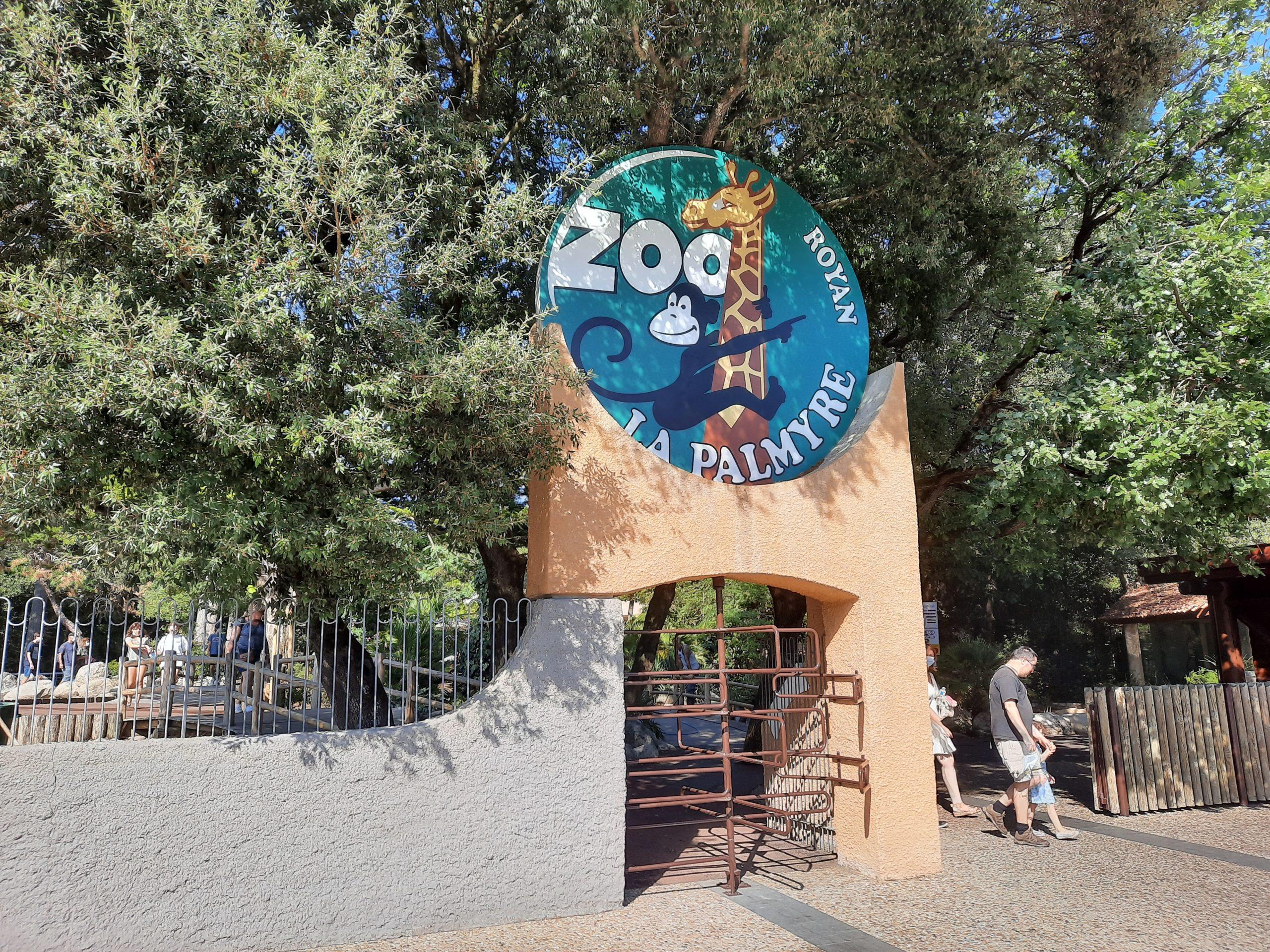 Entrée du Zoo de la Palmyre aux Mathes La Palmyre