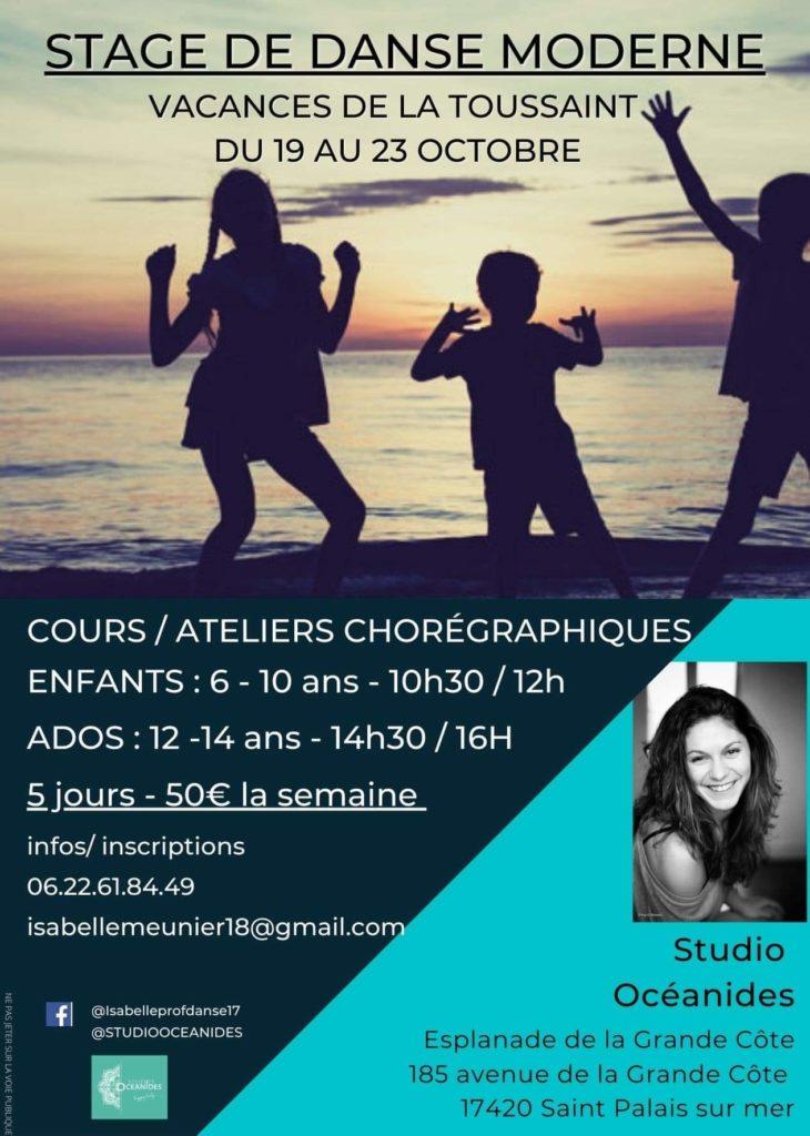 Stage de danse à Saint-Palais-sur-Mer