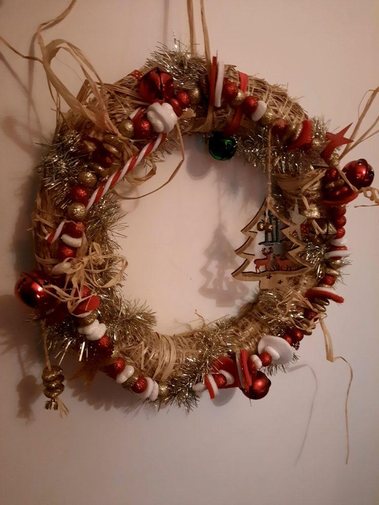 Couronne de Noël - Atelier de noël